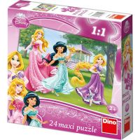 Walt Disney Princezny 24 dílků