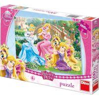 DINO 100 dílků Princezny s mazlíčky v parku XL