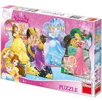 DINO WD Hravá princezná 4x54 dílků