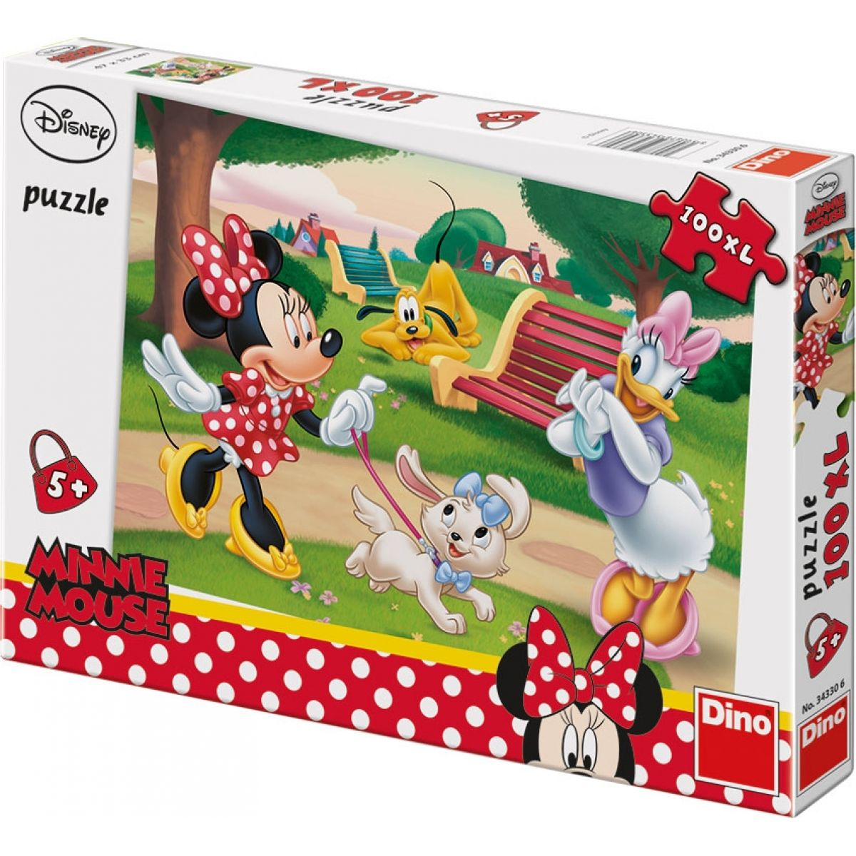 Dino Minnie 100 dielov