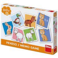 Dino Baby Pexeso: Domácí zvířátka