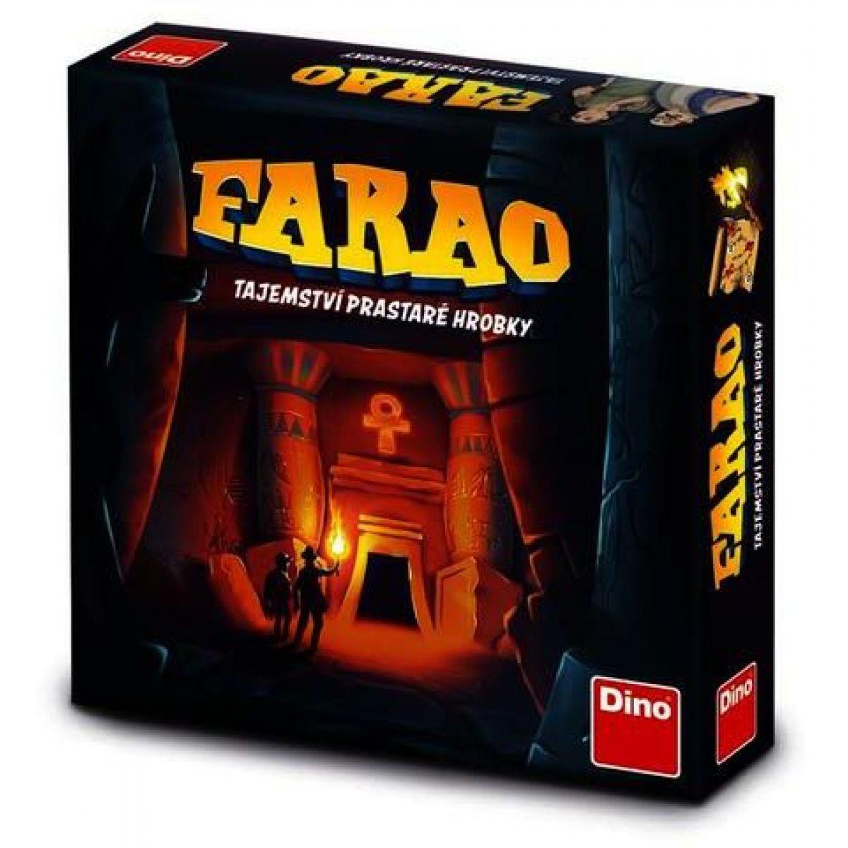 Dino Faraón tajomstvo prastarej hrobky rodinná hra