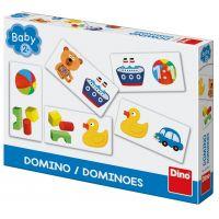 Dino Baby domino: Hračky