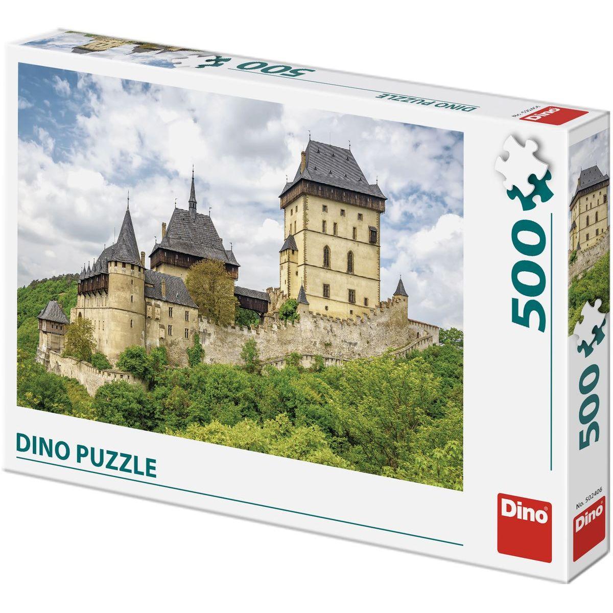 Dino Hrad Karlštejn 500 dielikov puzzle