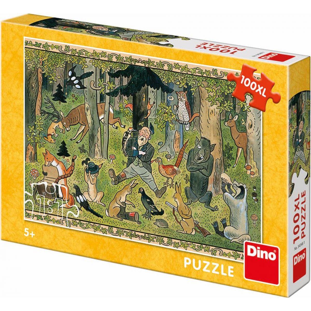 Dino Josef Lada hájnika sen 100 dielikov XL puzzle