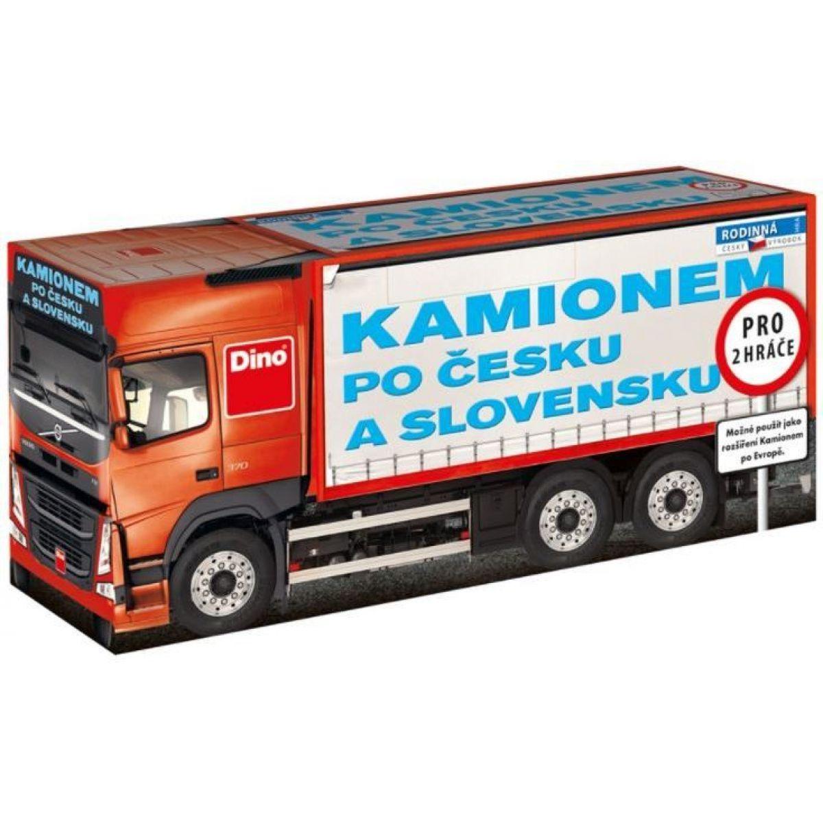Dino Kamiónom po Česku a Slovensku