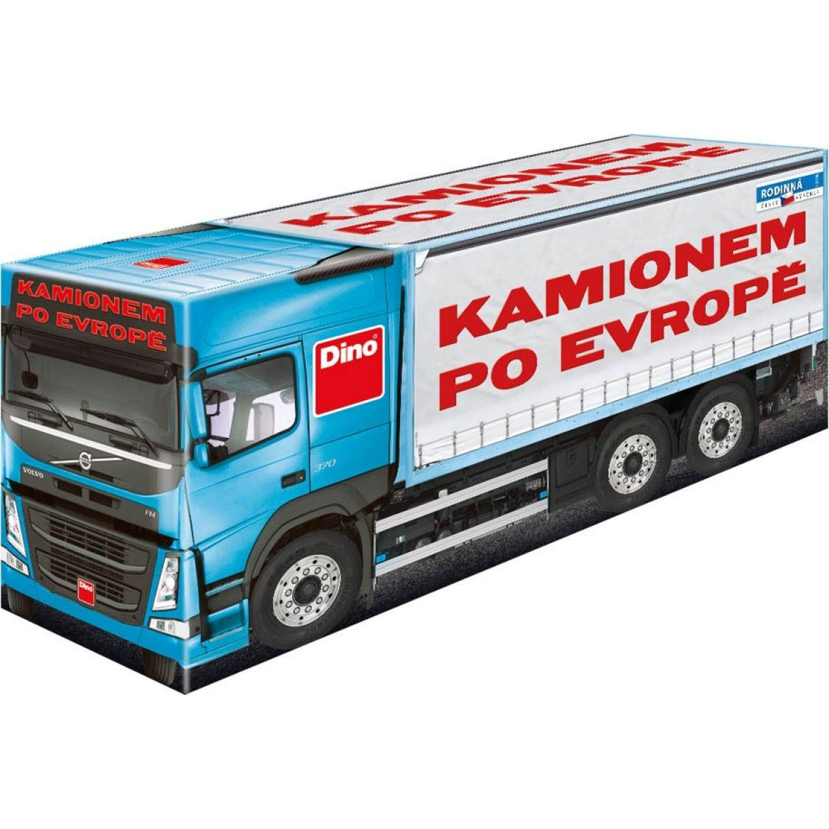 Dino Kamionem po Evropě - Poškodený obal