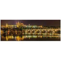 Dino Puzzle panoramic Karlov most v noci 2000 dielikov 2