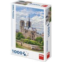 Dino Katedrála Notre Dame 1000 dielikov puzzle