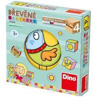 Dino Kocky pre najmenších detičky 4 ks