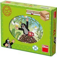 Dino Toys drevené kocky Krtko