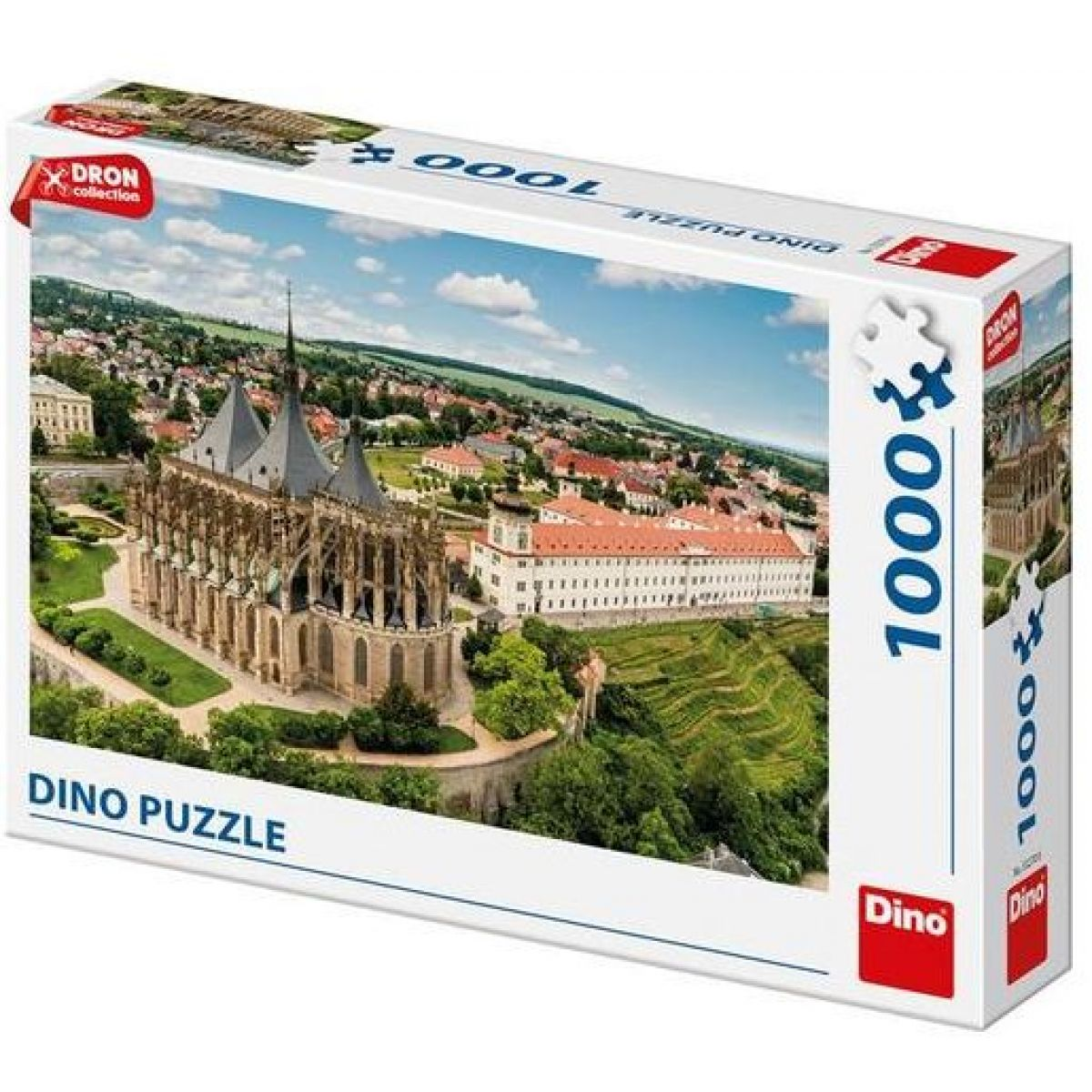 Dino Kutná Hora Dron Collection puzzle 1000 dielikov