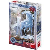 Dino Ledové království II 100 XL Neon puzzle