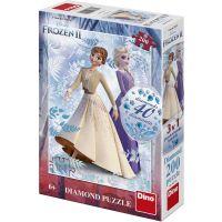 Dino Ledové království II 200 Diamond puzzle