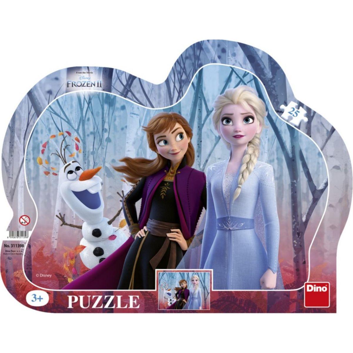 Dino Ľadové kráľosvtvo II 25 dielikov puzzle