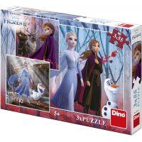 Dino Ľadové kráľovstvo II 3 x 55 puzzle