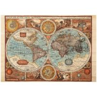 Dino Mapa Sveta z roku 1626 puzzle 500 dielikov 2