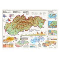 Dino Mapy Slovenska puzzle 2000 dielikov 2