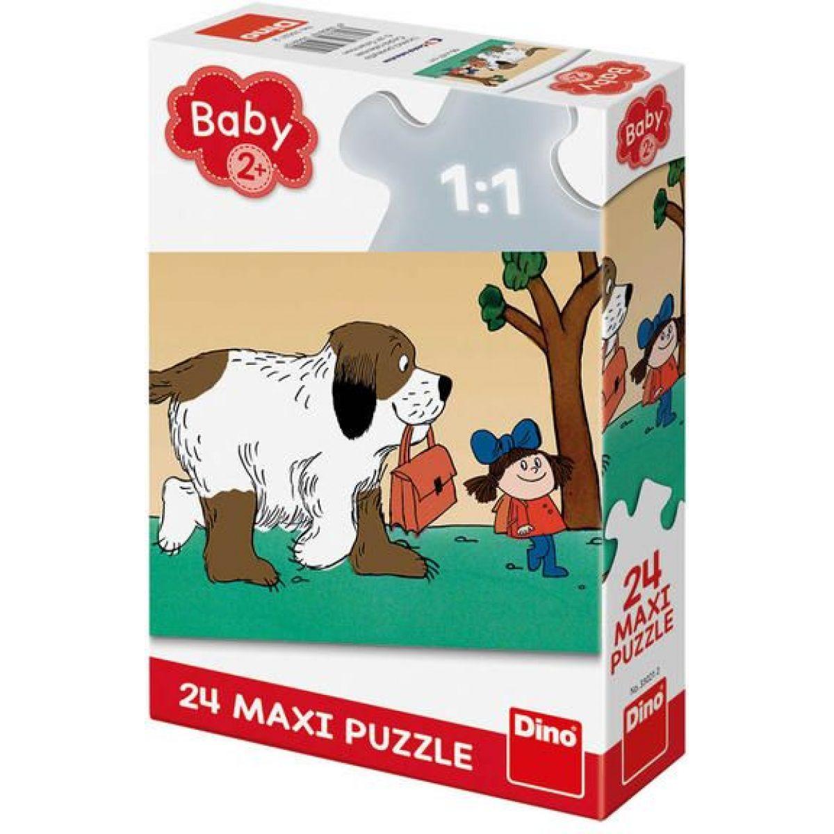 Dino Maxipes Fík maxi puzzle 24 dielikov