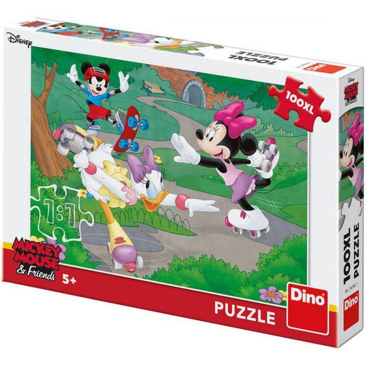 Dino Minnie Športuje 100 XL puzzle