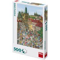Dino Mostecká veža 500 dielikov puzzle