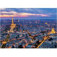 Dino Paríž v noci 100 dielikov neon puzzle 2
