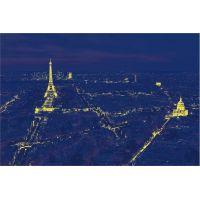Dino Paríž v noci 100 dielikov neon puzzle 3
