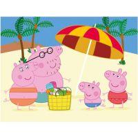 Dino Drevené kocky Peppa Pig 12 kociek 4
