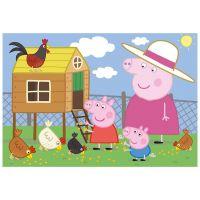 Dino Puzzle Peppa Pig Sliepočky 24 dílků 2