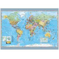 Dino Puzzle Mapa sveta politická 1000 dílků 2