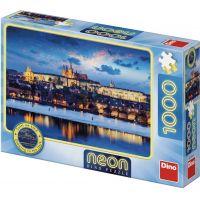 Dino Pražský hrad 1000 dielikov Neon puzzle