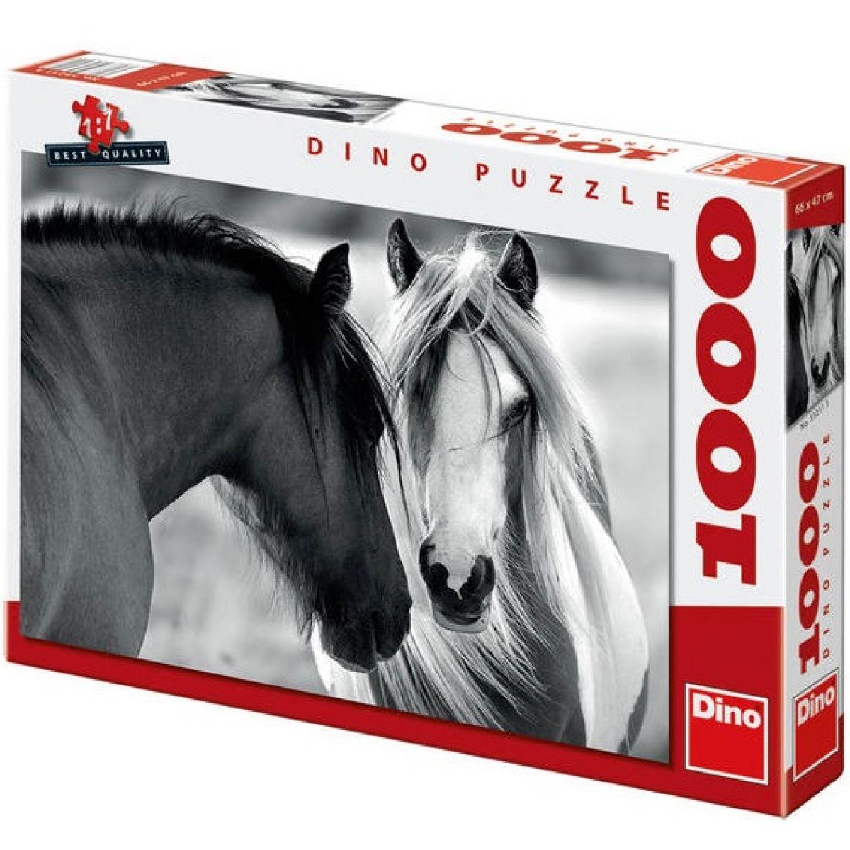 Dino 1000 dílků Koně