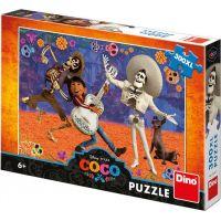 Dino puzzle Disney Coco Splněný sen 300 XXL dílků