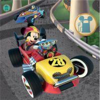 Dino Mickey a Minnie závodníci 3 x 55 dílků 2