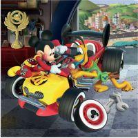 Dino Mickey a Minnie závodníci 3 x 55 dílků 4