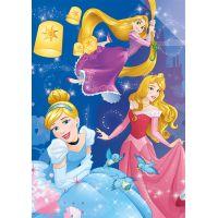 Dino Puzzle Disney Princess neon 100 XL dielikov