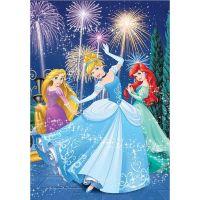 DINO Svítící 100 dílků Princezny XL 2