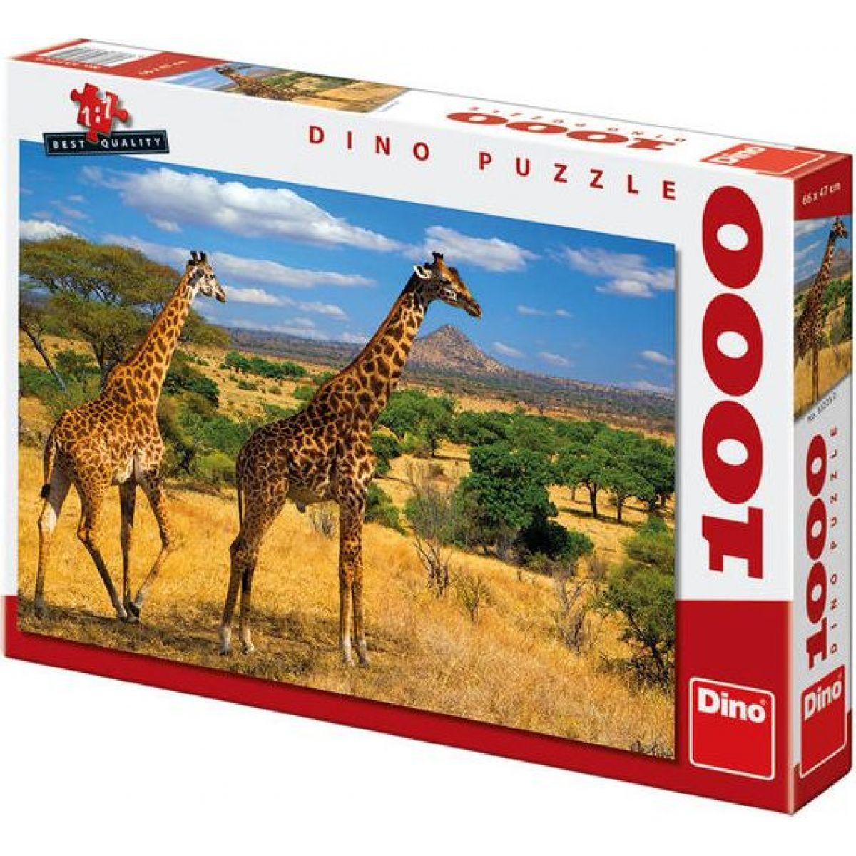 Dino Dve žirafy 1000 dielov