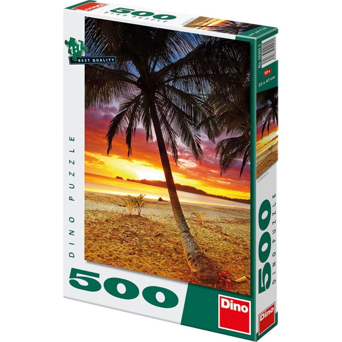 Dino Kostarika 33x47cm v krabici 23x34x3 500 dílků