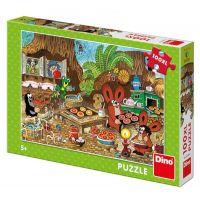 Dino puzzle Krtko v kuchyni 100 XXL dielikov