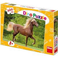 DINO 300 dílků Kůň zlatohřívák XL