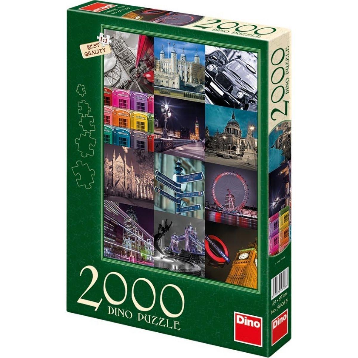 Dino Londýn 2000 dílků
