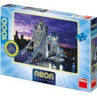 DINO Svítící 1000 dílků Tower Bridge Londýn