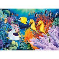 DINO Svítící 1000 dílků Život pod mořem 2