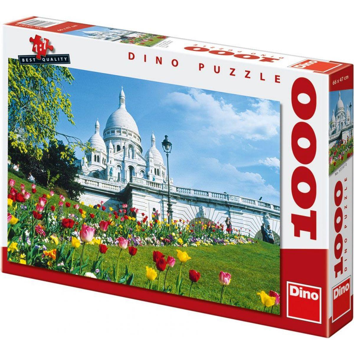 Dino Sacre Coeur 1000 dílků v krabici 66x47cm