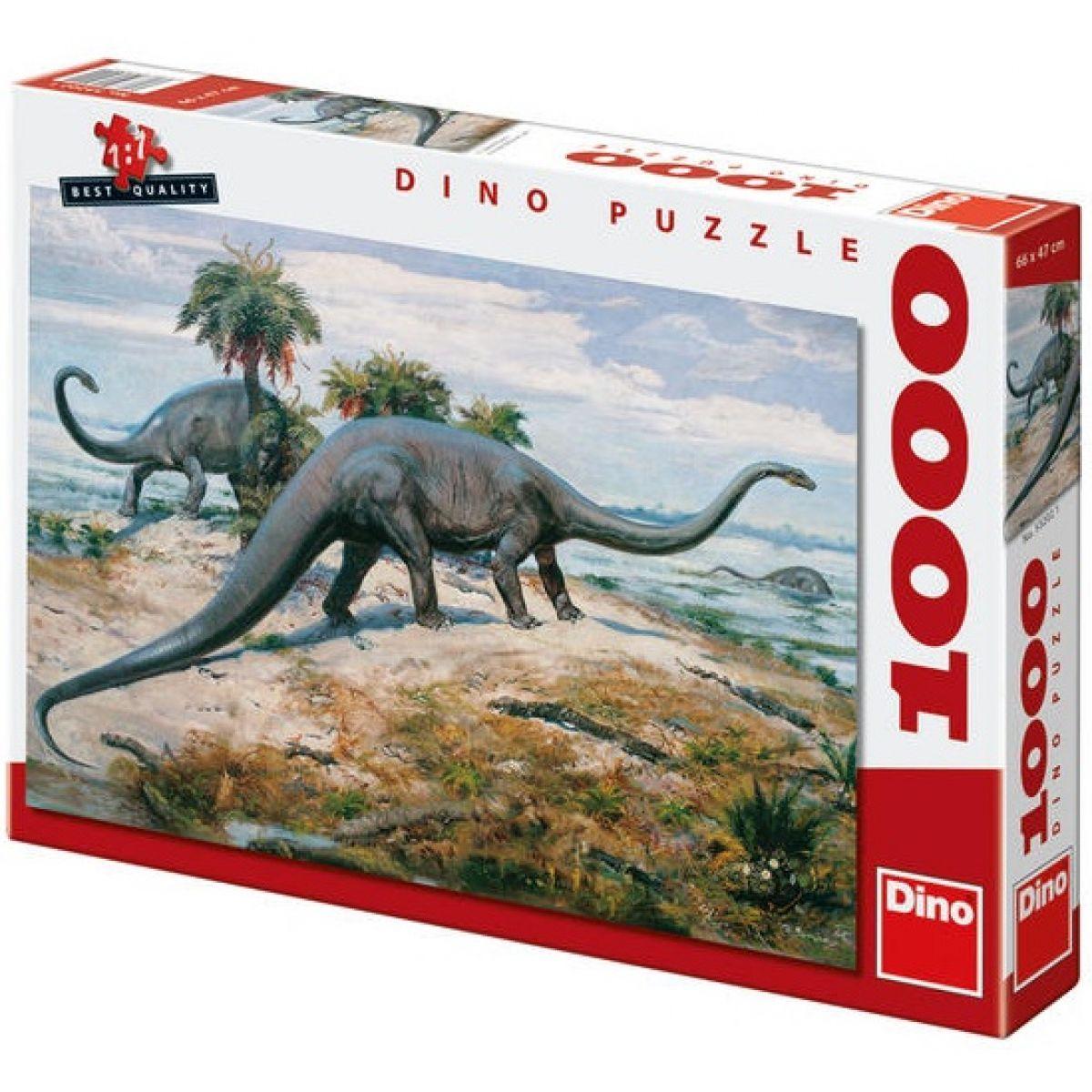 Dino Z. Burian: Diplodocus 1000 dielikov