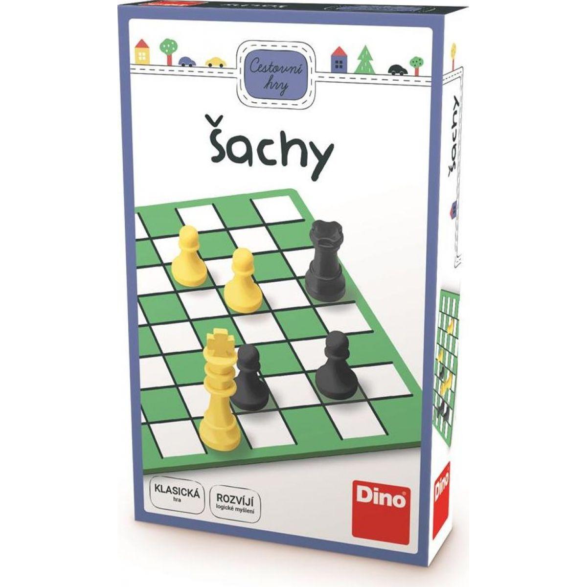 Dino Šach cestovný hra