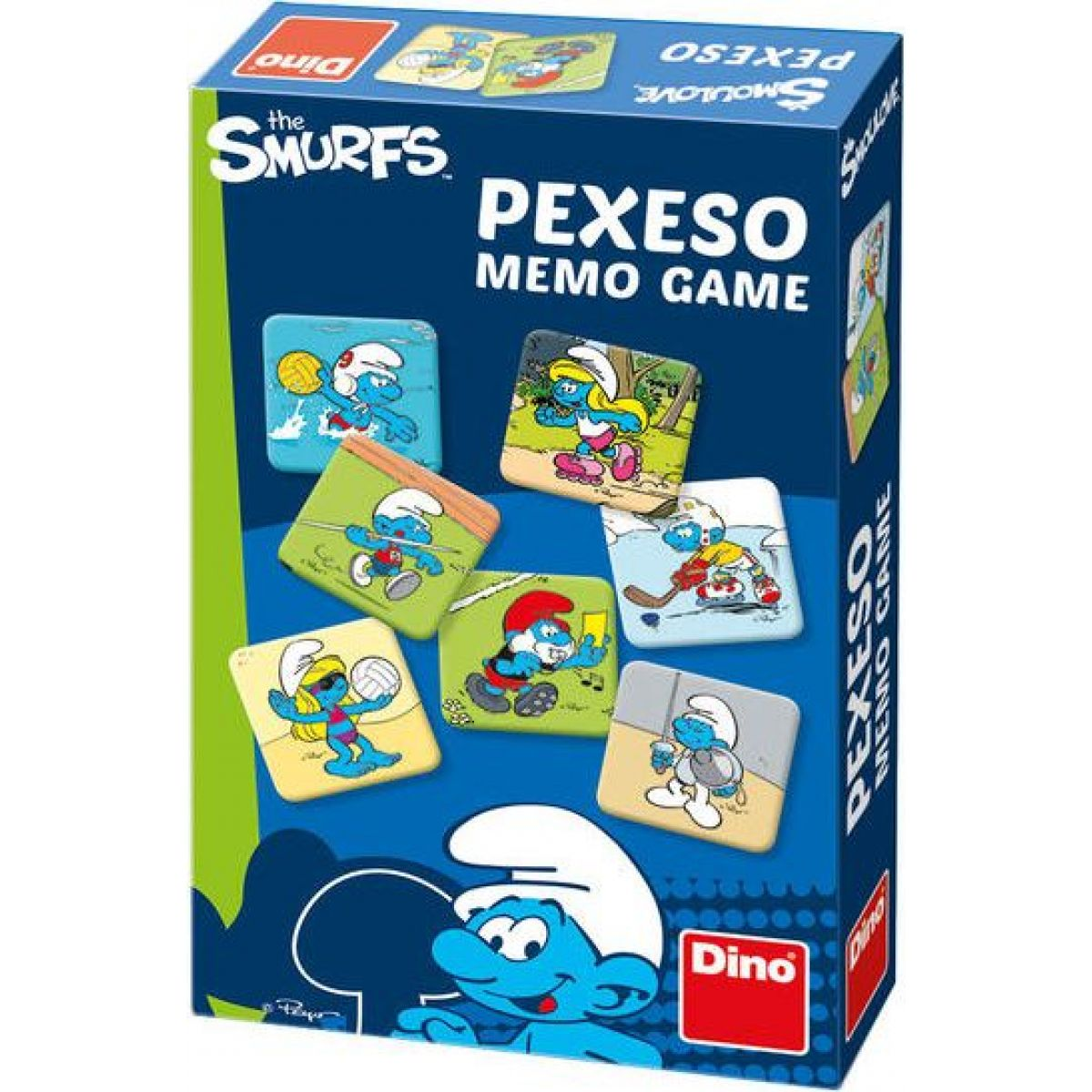 Dino Pexeso: Šmoulí športy