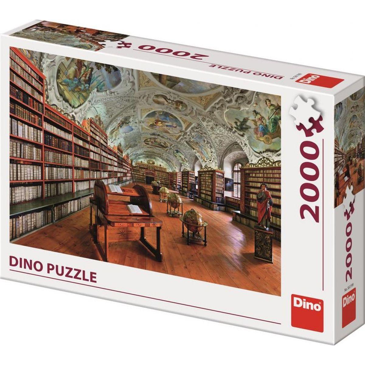 Dino Strahov teologický sála 2000 dielikov puzzle