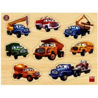 Dino tatra drevené puzzle vkladačka 8 dielikov